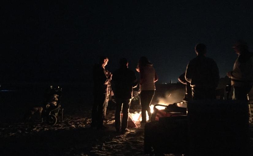 Host a Winter Beach BonfireParty